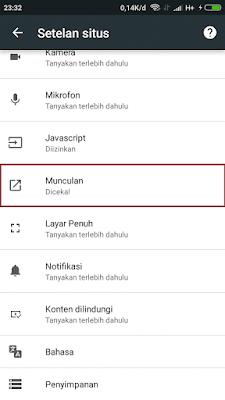 menyeting browser google agar tidak tampil iklan