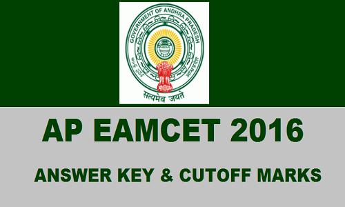 AP- EAMCET -2016 -Answer- Key