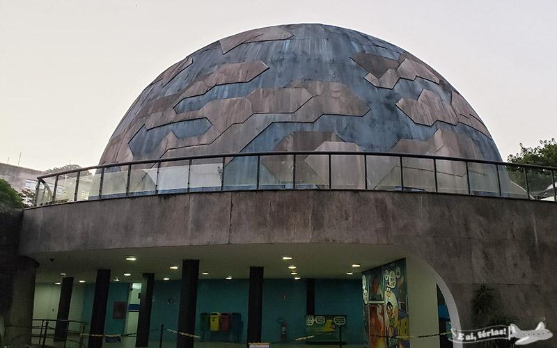 Uma das cúpulas do Planetário da Gávea