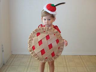 toddler cherry pie costume