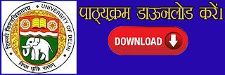 delhi university network marketing syllabus