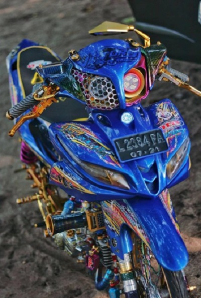 Modifikasi Yamaha jupiter series