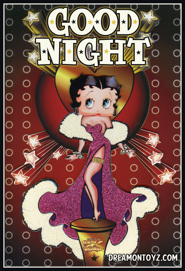 Betty Boop Pictures Archive - Bbpa Betty Boop Good Night -5460
