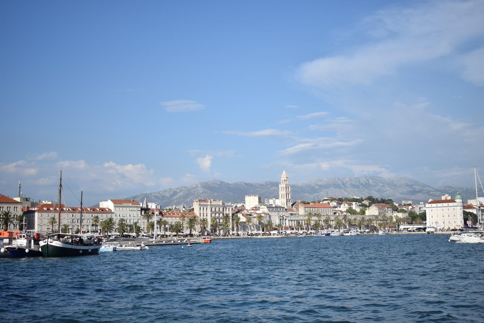 port, croatie, mer