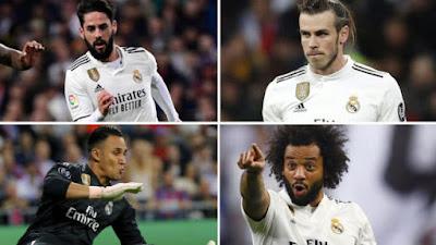 Revolución de Zidane salidas del Madrid