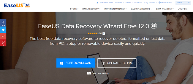 Features of EaseUS Data Recovery Wizard