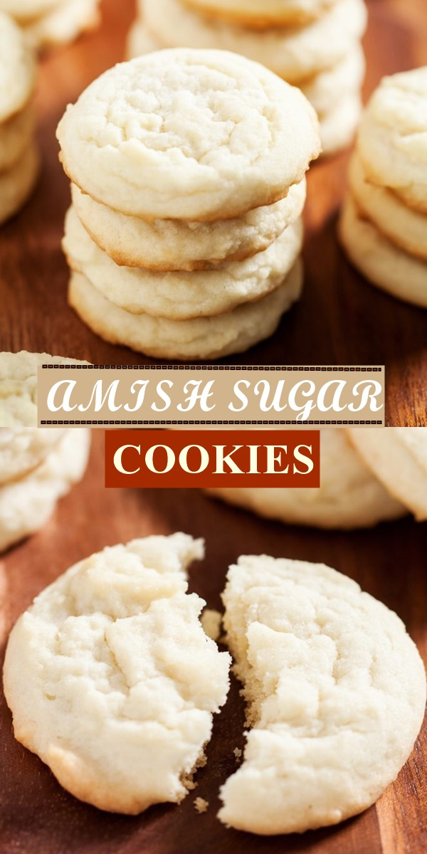 AMISH SUGAR COOKIES #cookiesrecipes