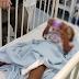 Menina de 3 anos atingida por bala perdida recebe alta em JP