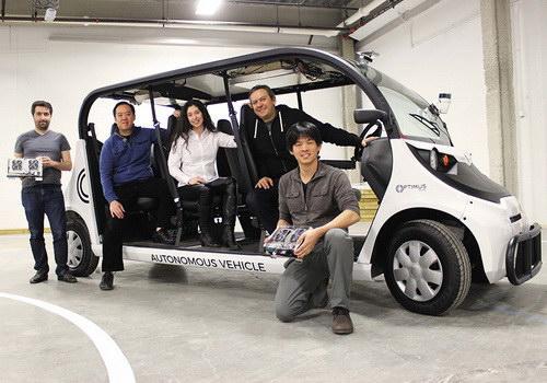 Tinuku Optimus Ride prepares autonomous car tests on public roads