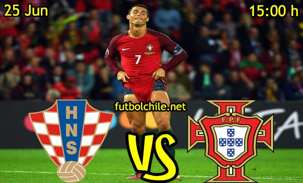 VER STREAM RESULTADO EN VIVO, ONLINE: Croacia vs Portugal