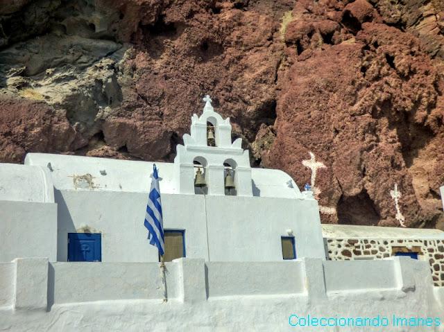 iglesia red beach santorini