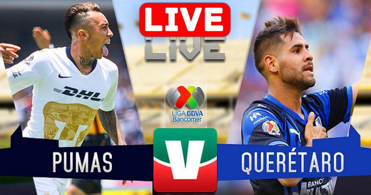 Queretaro vs Pumas UNAM