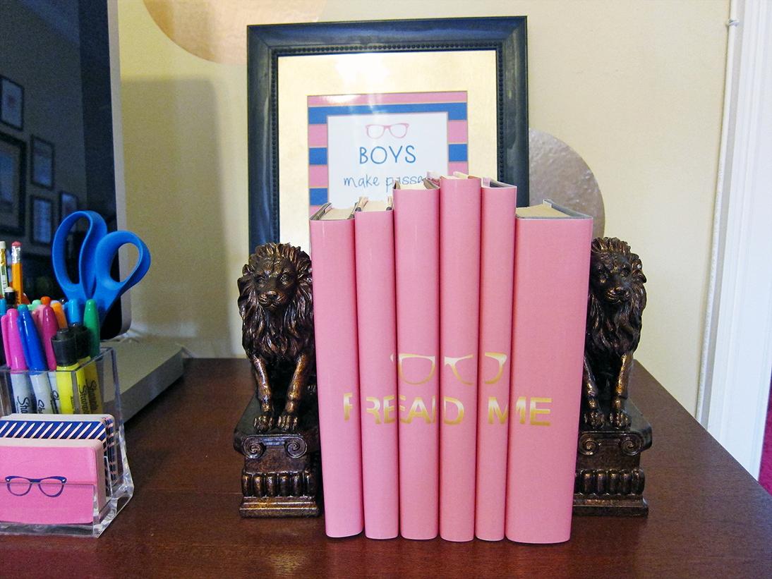 History In High Heels: DIY: Book Covers