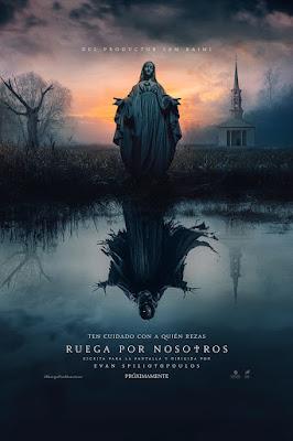 Ruega por nosotros - cartel de la nueva película de terror producida por Sam Raimi
