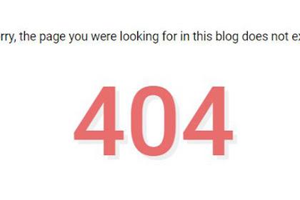 Cara Mengatasi/Mengalihkan Link Halaman Url Yang Error 404 ke Homepage Pada Blogger