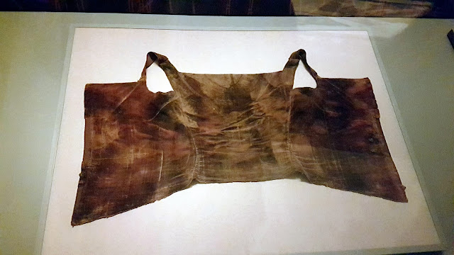 clothing from the museum in the palazzo pitti