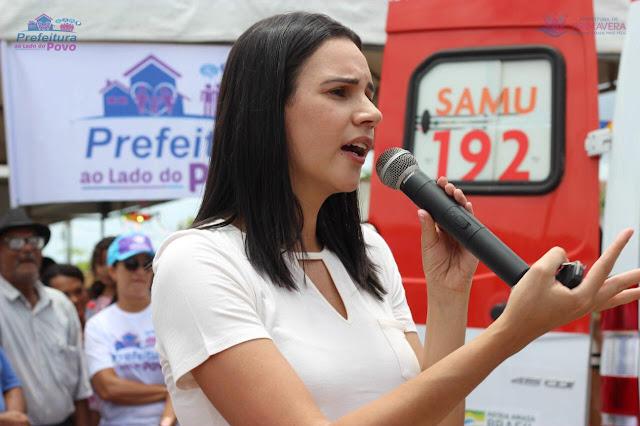 Dayse Juliana assina carta de intenção para adquirir vacinas contra Covid-19 através do consórcio de prefeitos