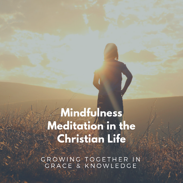 How to use mindfulness meditation in the Christian Life to overcome anxiety.