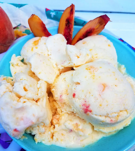 Home Peach Ice Cream Recipe