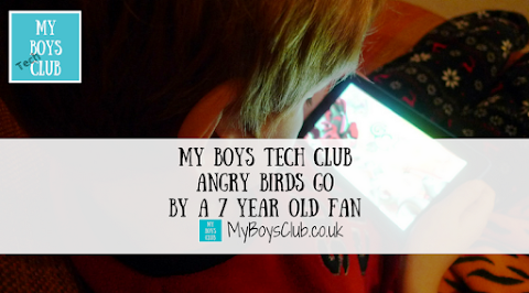 My Boys Tech Club - Angry Birds Go