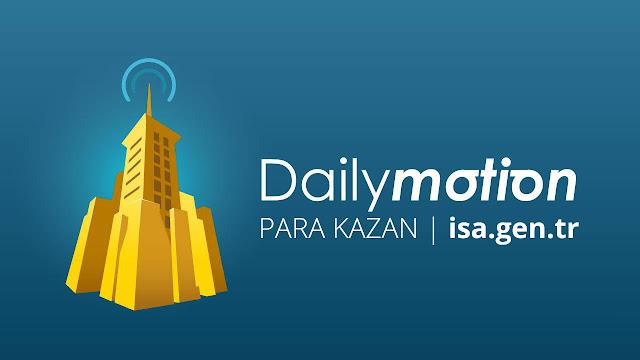 dailymotion para kazanmak