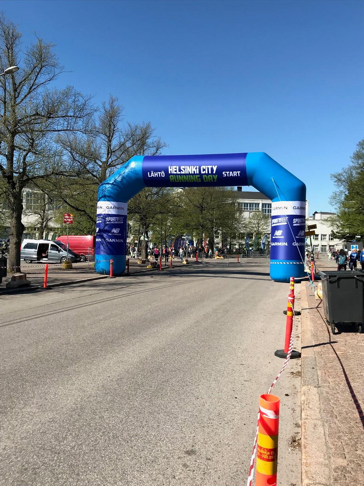 Helsinki City Running Day lähtöportti