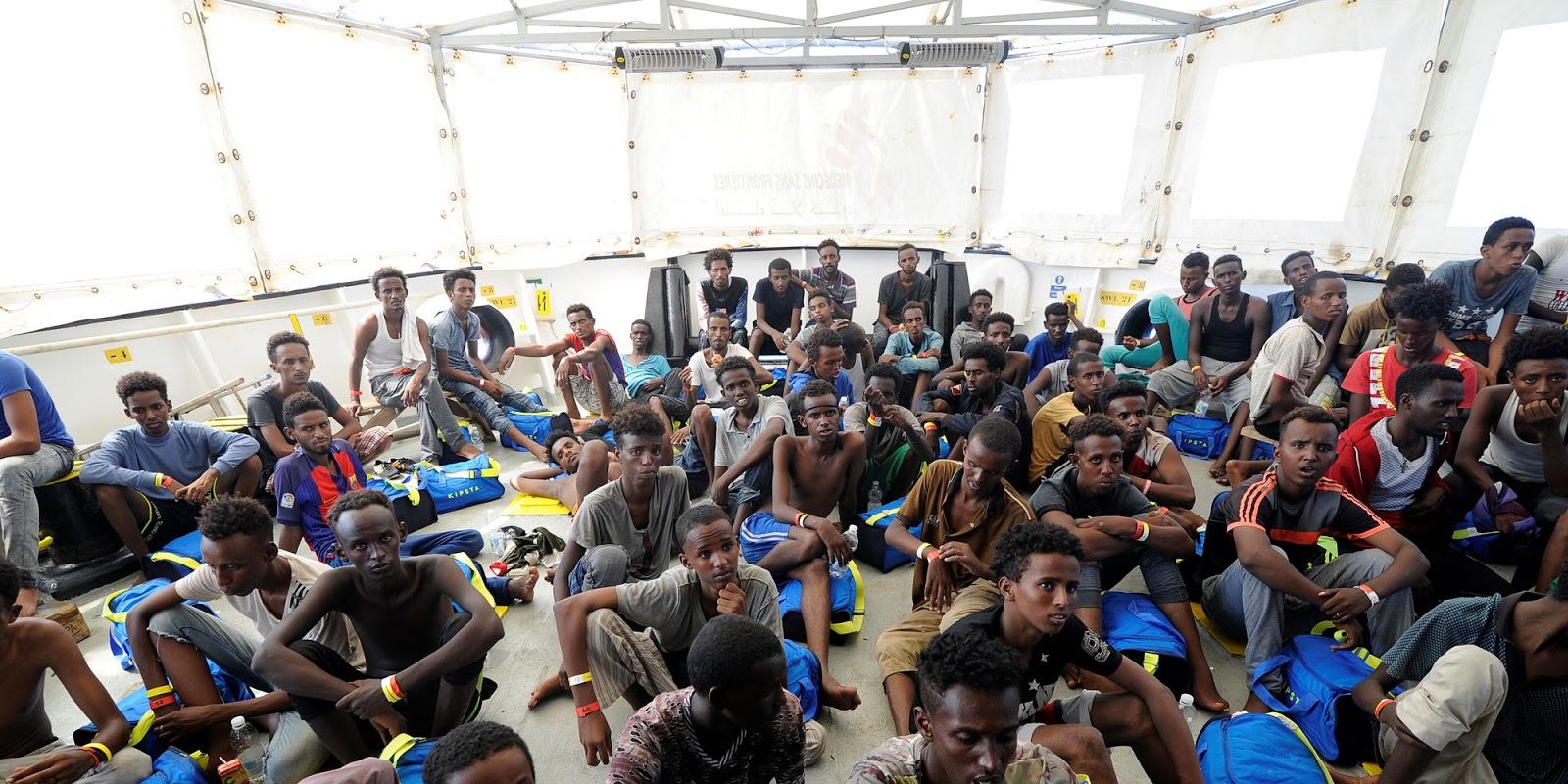 Crise migratoire : à Malte de plus en plus de migrants à la rue après avoir été expulsés de leur centre d'hébergement