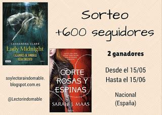 http://soylectoraindomable.blogspot.com.es/2016/05/sorteo-600-seguidores.html