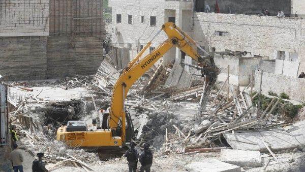 Israel intensifica demoliciones en zonas ocupadas de Palestina