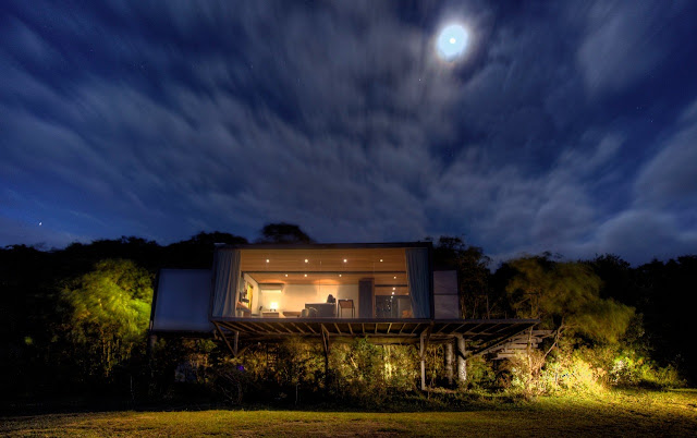 50 sqm 1 Bedroom Prefab Shipping Container Houses, Brazil 1