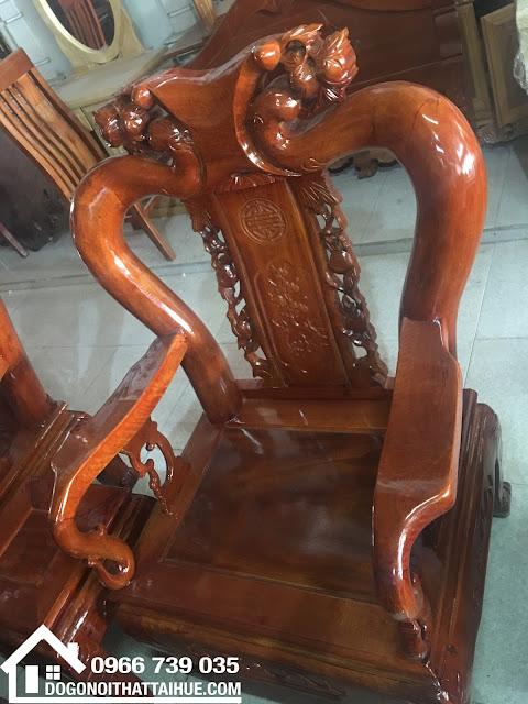 Salon Gỗ Nhãn  6 Món, Salon gỗ tại Huế, Đồ gỗ nội thất tại Huế