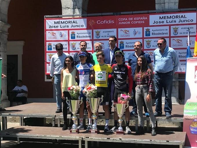 Pablo Gutiérrez (Kometa Cycling Team junior) se estrenó en la Copa de España, y su compañero Raúl García se mantiene al frente de la general