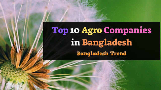 Top 10 Agro Companies in Bangladesh