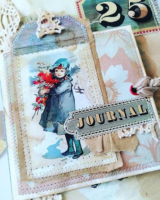 Journal a tema NATALE VINTAGE