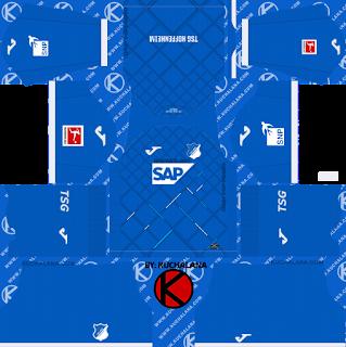 TSG Hoffenheim 2019/2020 Kit - Dream League Soccer Kits