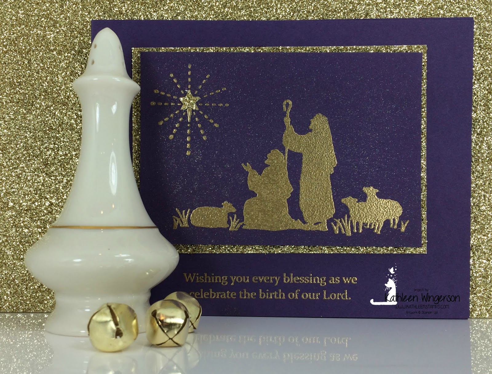 Every Blessing Christmas Card and Video - Kathleen\'s Stamping Place