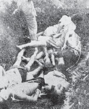 Korban-korban pemberontakan PKI di Madiun pada tahun 1948 dari pihak sipil dan militer.