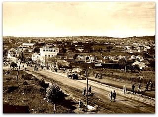 Avenida Azenha, em 1930 - Porto Alegre, RS