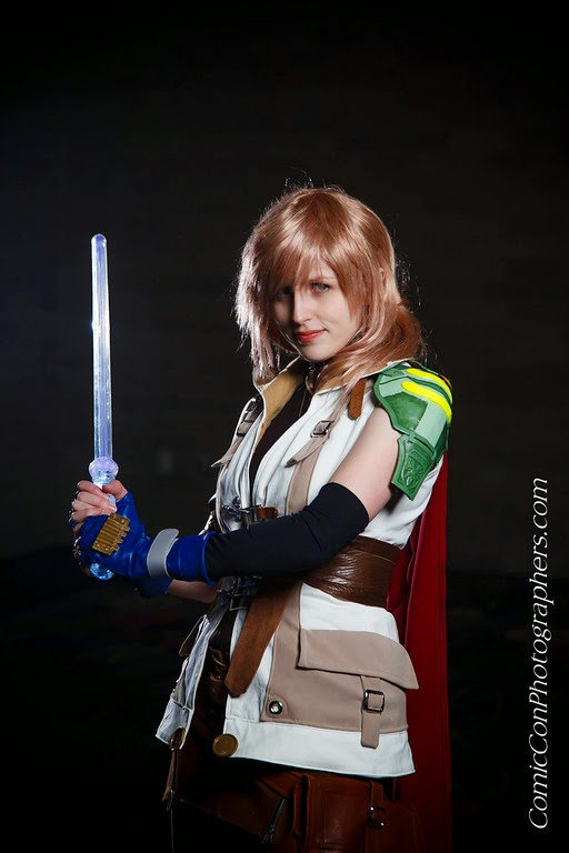 sailor crafty lightning cosplay final fantasy xiii photo