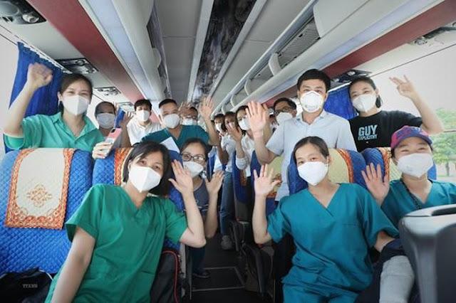 15.000 nhân viên lên đường chi viện cho Thành phố Hồ Chí Minh và các tỉnh phía Nam.