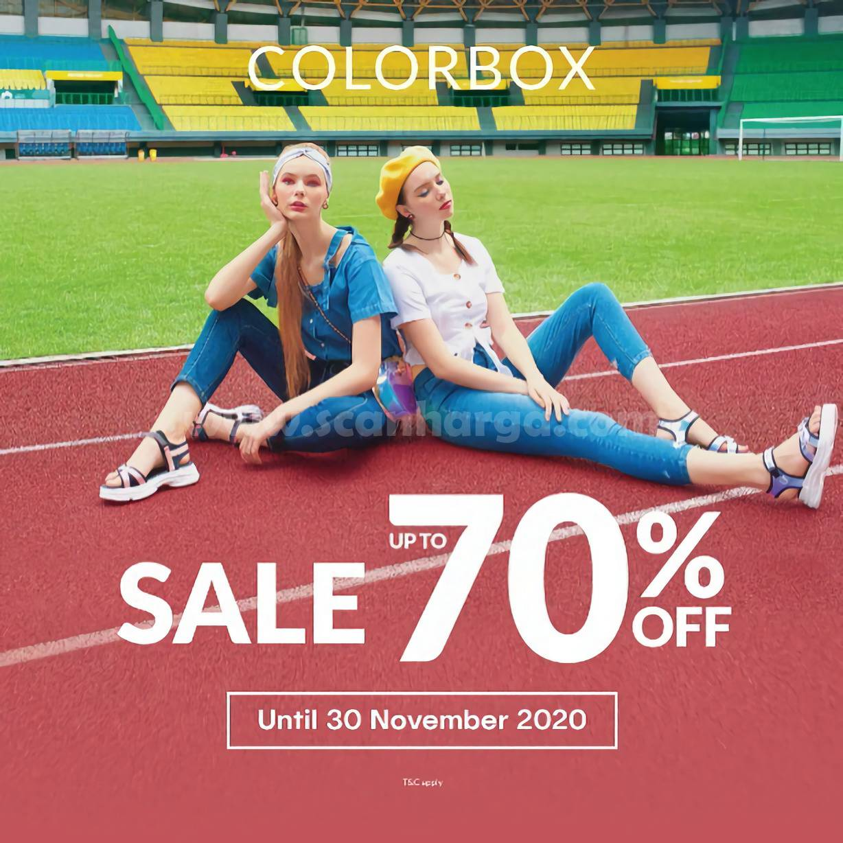 Promo ColorBox Sale up to 70% off*
