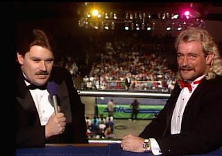 WCW / NWA Starrcade 1988 - True Gritt - Tony Schiavone & Magnum TA - The Mustache Men Ride Again!