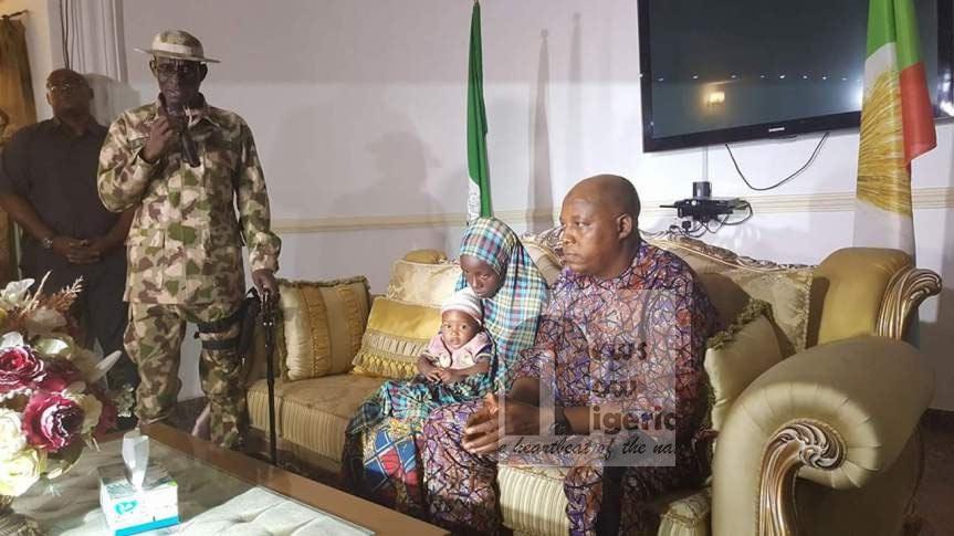 Rescued Chibok girl Rakiya Abubakar handed over to Borno Govt