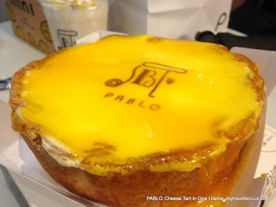 Famous and Popular Pablo Cheese Tart Available in One Utama