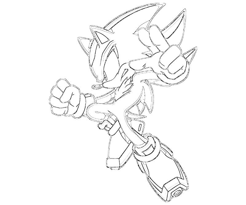sonic and coloring pages shadow the hedgehog | Sonic Generations Shadow The Hedgehog Pistol | Surfing