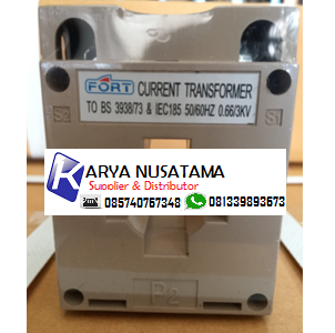 Jual Current Transformer CT 250/5 FORT di Padang