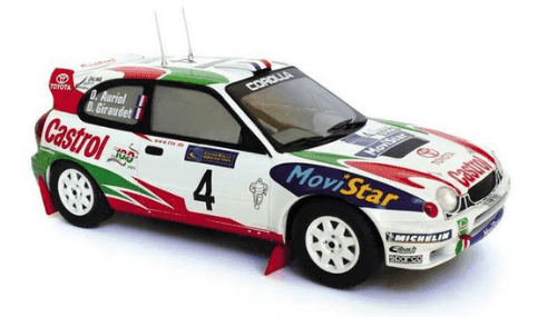 WRC collection 1:24 salvat españa, Toyota Corolla WRC 1:24
