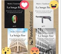 Logo Concorso e sondaggio Panda Edizioni: vinci gratis copia del libro ''La lunga fine''