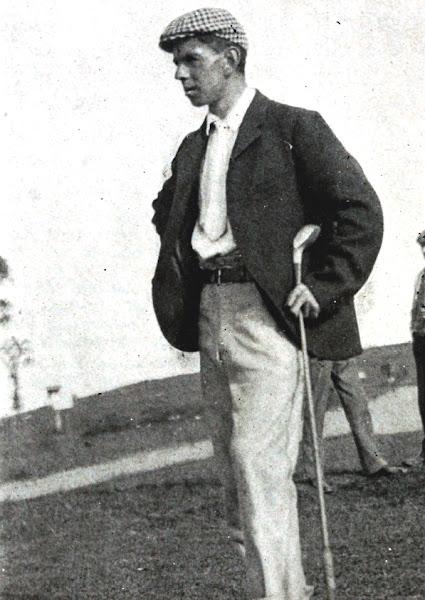 Golfer Willie Anderson circa 1905