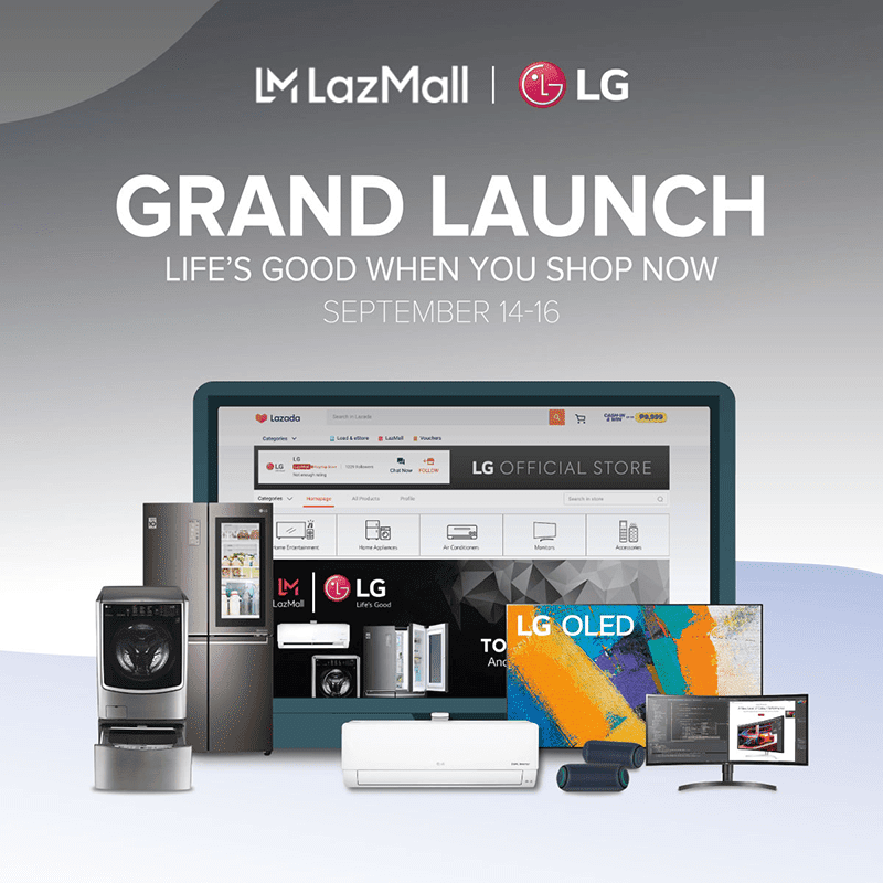 LG products now available via Flagship Store in Lazada